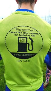 Photo of T-shirt of Pistoffen hash running
